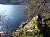 Caminhada à caverna de Rob Roy, Loch Lomond Foto de Stock