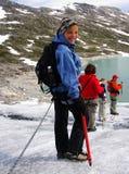 Caminhada 4 da geleira Fotos de Stock