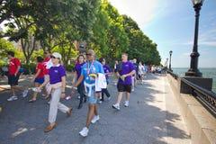 Caminhada americana da fundação do fígado Imagens de Stock