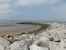 Caminhada ao mar Imagens de Stock