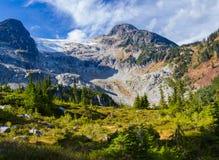 Caminhada ao pico o mais alto Fotos de Stock