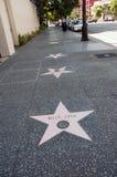 Caminhada da fama de Hollywood Imagens de Stock