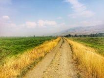Caminhada da fuga pelo aeroporto de Kamloops Foto de Stock