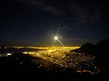 Caminhada da lua do tolo Fotografia de Stock