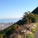 Caminhada da montanha Fotos de Stock Royalty Free