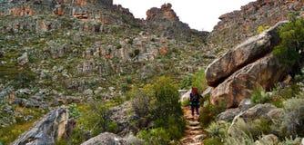 Caminhada da montanha de Cedarberg Foto de Stock Royalty Free