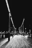 Caminhada da noite Fotos de Stock