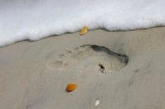 Caminhada da praia fotos de stock