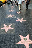 Caminhada de Hollywood da fama Imagem de Stock Royalty Free