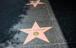 Caminhada de Hollywood da fama Celebridades legendárias de Hollywood fotos de stock