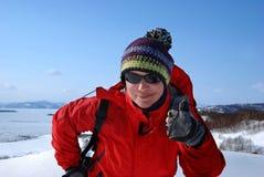 Caminhada de Kamchatka Imagem de Stock