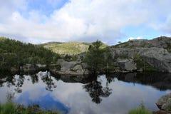 Caminhada de Noruega Imagens de Stock Royalty Free