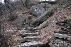 Caminhada de pedra Fotografia de Stock