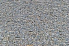 Caminhada de pedra cinzenta na perspectiva Fotos de Stock