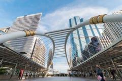 Caminhada do céu de Banguecoque Imagens de Stock Royalty Free