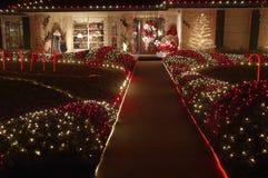 Caminhada do Natal Fotografia de Stock Royalty Free