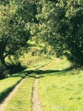 Caminhada do país Imagens de Stock Royalty Free