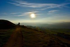 Caminhada do país de Yorkshire imagens de stock royalty free