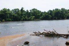 Caminhada do rio Foto de Stock Royalty Free