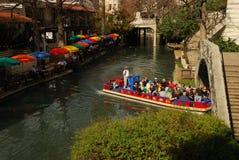 Caminhada do rio em San Antonio, Texas fotos de stock royalty free