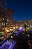 Caminhada do rio em San Antonio Texas imagens de stock royalty free