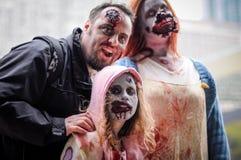 Caminhada do zombi Imagens de Stock