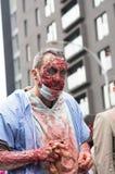 Caminhada do zombi de Montreal Imagens de Stock