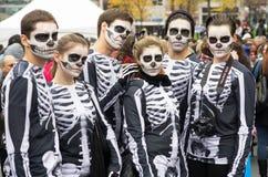 Caminhada do zombi de Montreal, edição 2014 Foto de Stock