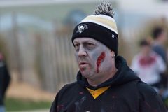 Caminhada 2016 do zombi de New-jersey Foto de Stock