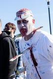 Caminhada 2015 do zombi do parque de Asbury Foto de Stock Royalty Free