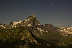 Caminhada em Alp Flix Imagem de Stock