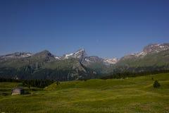 Caminhada em Alp Flix Imagem de Stock Royalty Free