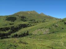 Caminhada em Bernese Oberland Foto de Stock Royalty Free