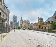 Caminhada em Ghent Imagens de Stock Royalty Free