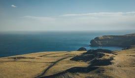 Caminhada em Islândia bonita Fotos de Stock Royalty Free
