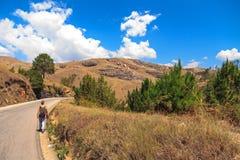 Caminhada em Madagáscar Fotos de Stock Royalty Free