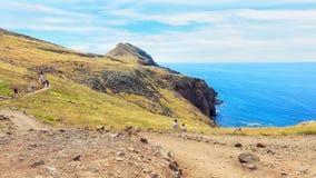 Caminhada em Madeira imagem de stock