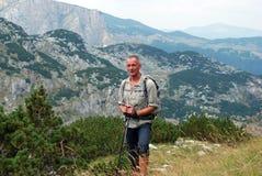 Caminhada em Montenegro Foto de Stock