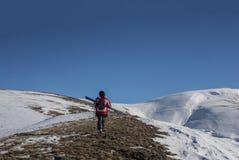 Caminhada em Shar Mountains Fotos de Stock