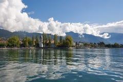 Caminhada em um barco. fotos de stock royalty free