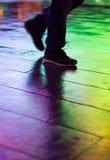Caminhada III do arco-íris fotografia de stock royalty free