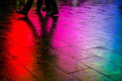 Caminhada IV do arco-íris fotos de stock