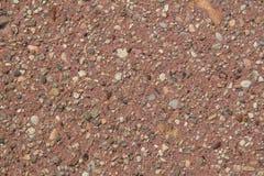 Caminhada lateral vermelha Fotografia de Stock Royalty Free