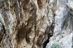 Caminhada malaga andalucia spain do ` s do rei Imagens de Stock Royalty Free