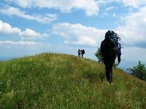 Caminhada na Crimeia Imagem de Stock