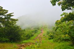 caminhada na montanha Imagem de Stock Royalty Free
