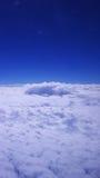 Caminhada na nuvem Fotografia de Stock