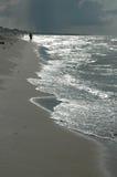 Caminhada na praia Imagem de Stock