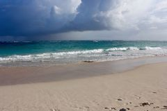 Caminhada na praia Foto de Stock Royalty Free