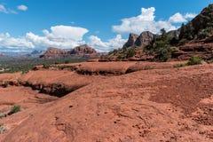 Caminhada na rocha de Bell Imagem de Stock Royalty Free